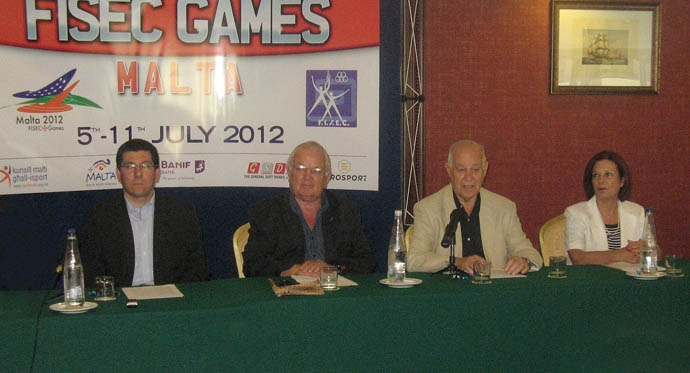 Press launch - FISEC Games - 2012